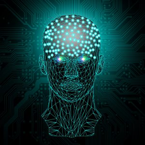 Artificial Inteligence concept art article cover
